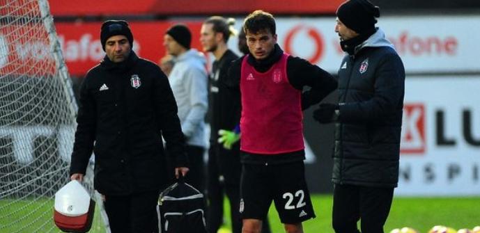 Beşiktaş'ta Adem Ljajic korkuttu!