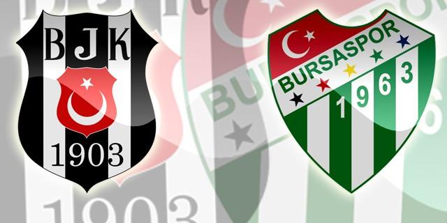 Beşiktaş'ın Bursaspor maçı biletleri satışta