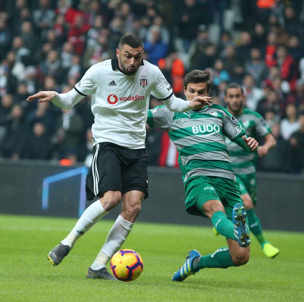 Türkiye'nin en iyi golcüsü Burak Yılmaz!