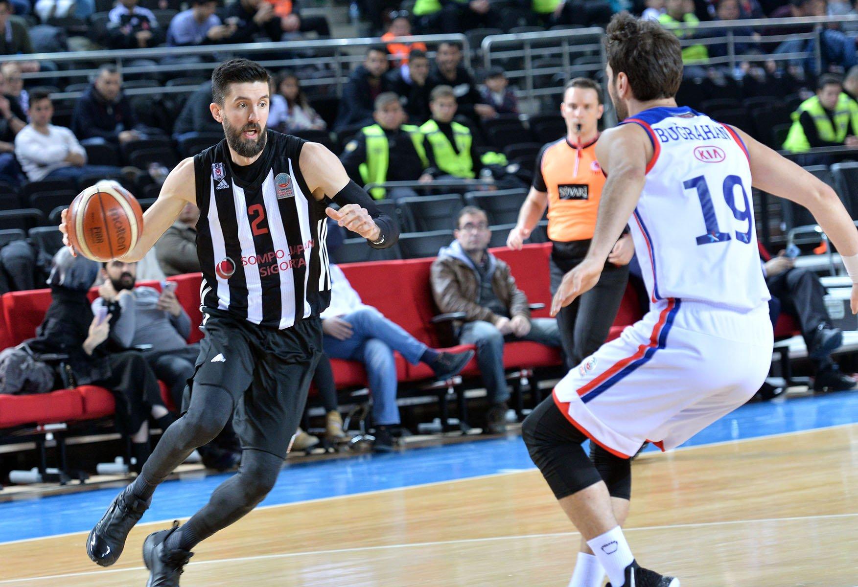Beşiktaş, yarı finalde kupaya veda etti