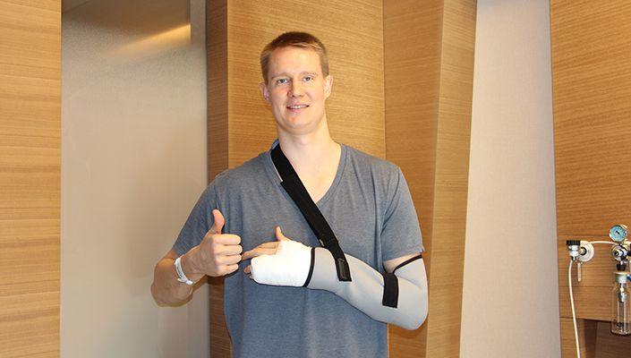 Beşiktaş Sompo Japan oyuncusu ameliyat oldu