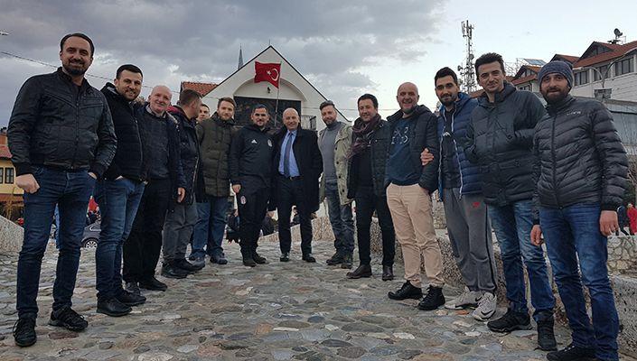 Beşiktaş, Balkanlar'da da gün geçtikçe güçleniyor