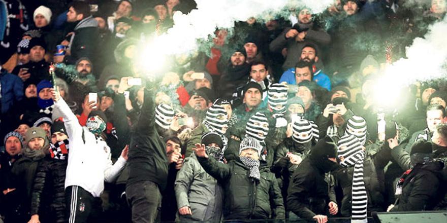 UEFA'dan Beşiktaş'a ceza geliyor!