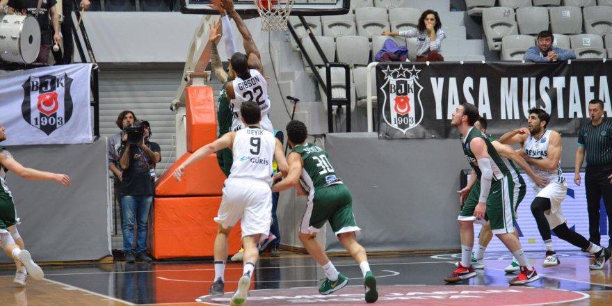 Beşiktaş Sompo Japan, FİBA Şampiyonlar Ligi'nden elendi