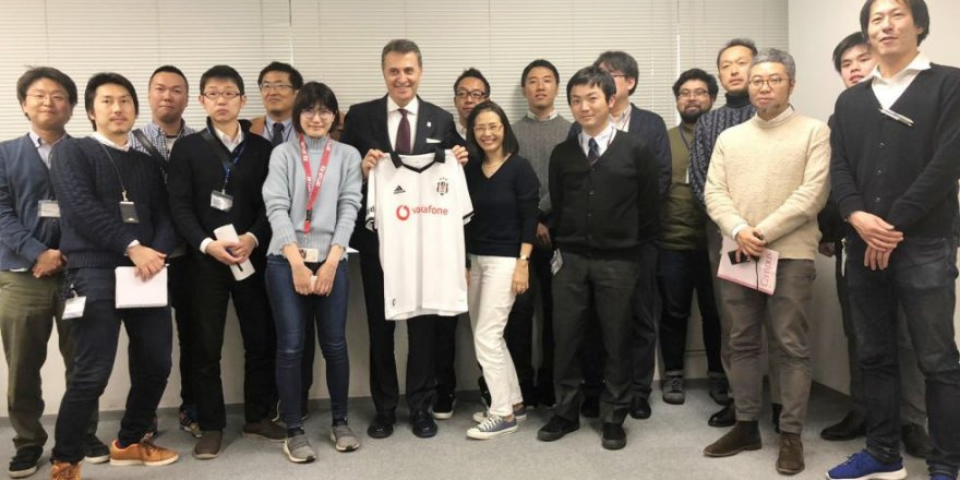 Fikret Orman, Japonya'da basın toplantısı düzenledi