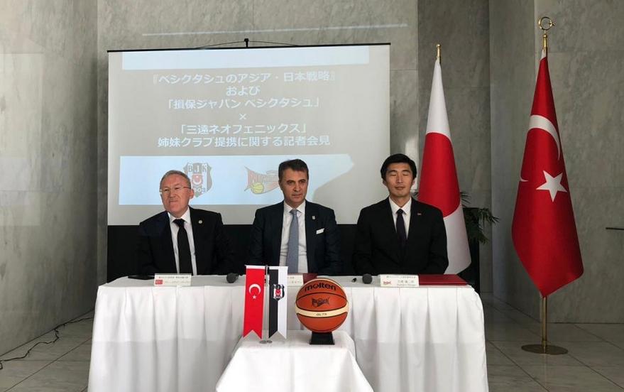 Beşiktaş'a Japonya'dan kardeş kulüp. İmzalar atıldı
