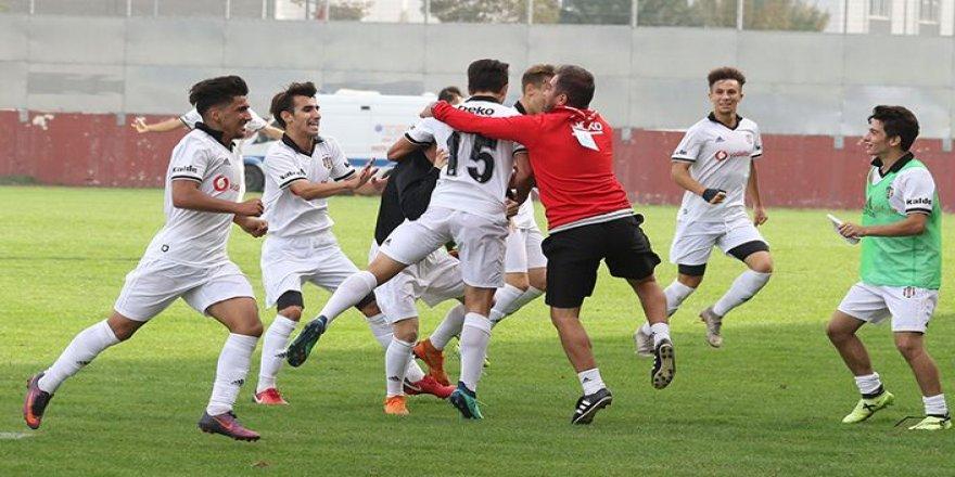 Beşiktaş'ın genç takımları Göztepe ile karşılaştı