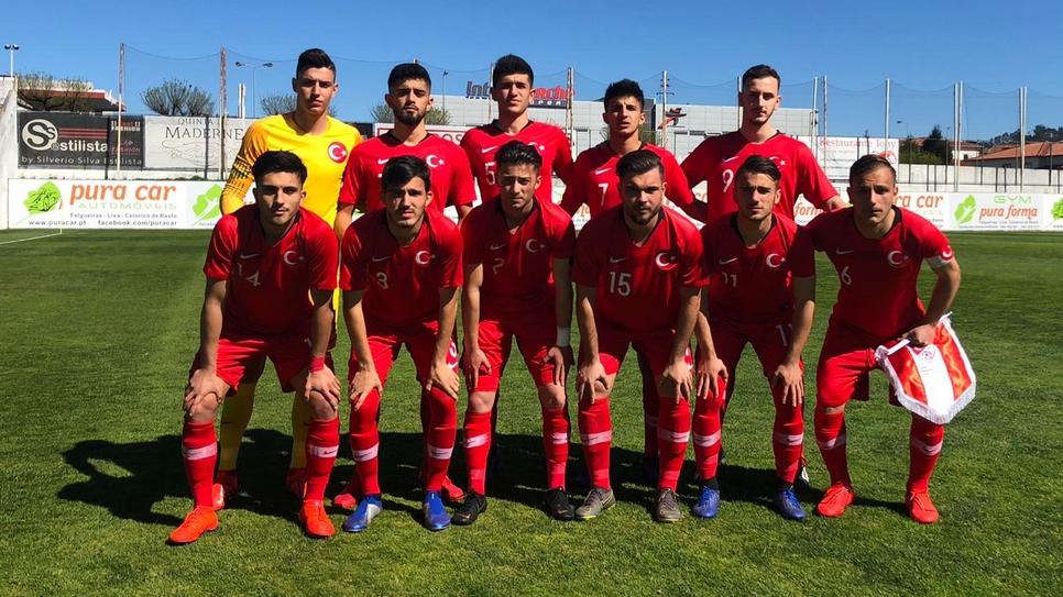 U19 Milli Takımı İskoçya'ya 3-1 yenildi