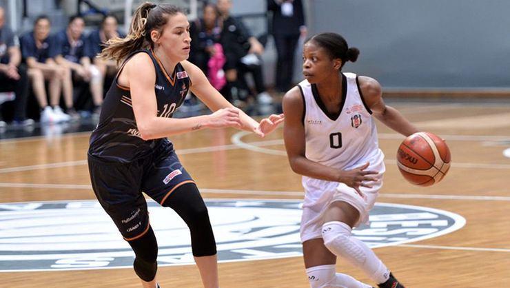 Beşiktaş: 92 - Çukurova Basketbol: 88