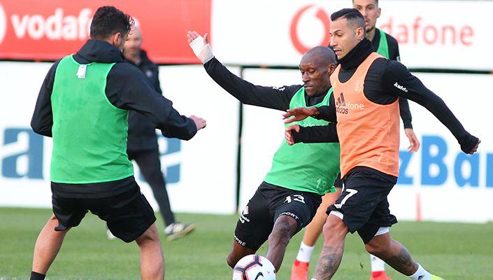 Beşiktaş, Ç. Rizespor maçı hazırlıklarına devam etti