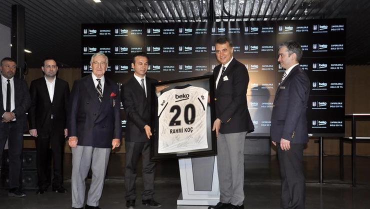 Beşiktaş Müzesi'nde 'Beko'lu Yıllar' sergisi açıldı