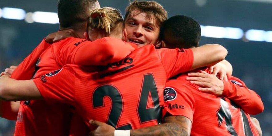 Beşiktaş - Rizespor maçı ÖZET İZLE (Rize:2 - BJK:7 maç özeti)