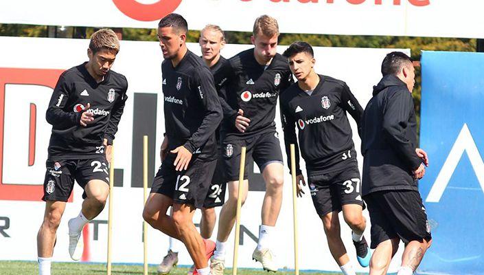 Beşiktaş'ta Başakşehir maçı hazırlıkları başlıyor