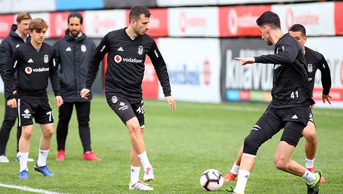 Beşiktaş, Başakşehir maçı hazırlıklarına başladı
