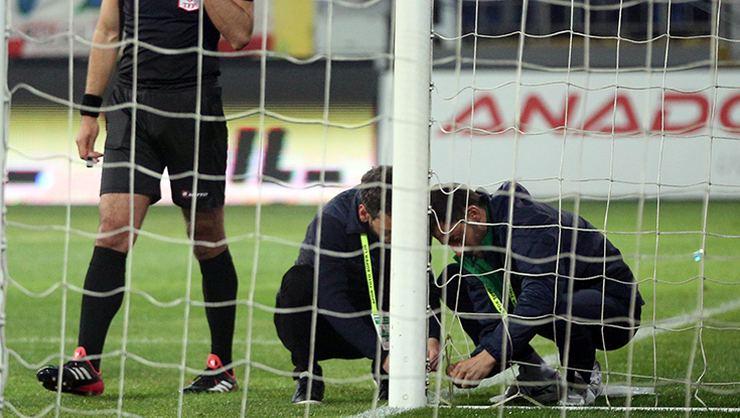 Rizespor-Beşiktaş maçında ağların neden yırtıldığı belli oldu!