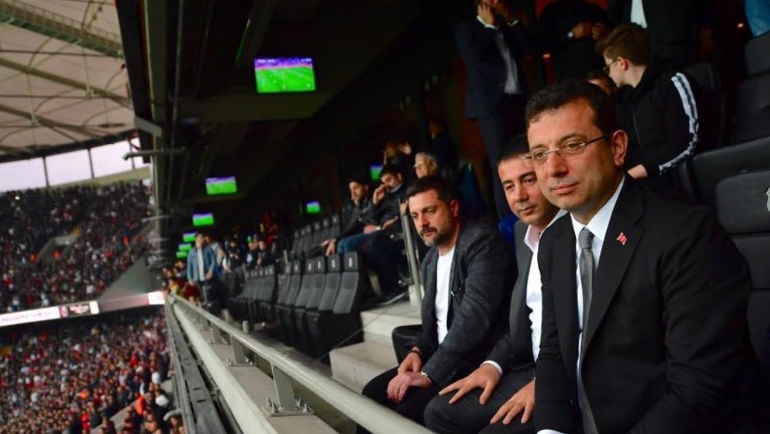 """İmamoğlu: """"Başarılar diliyorum Beşiktaş'a"""""""