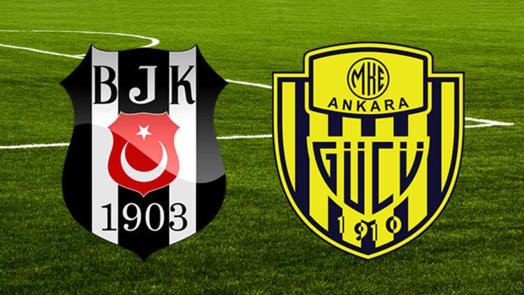 Beşiktaş ve Ankaragücü'nün 11'leri