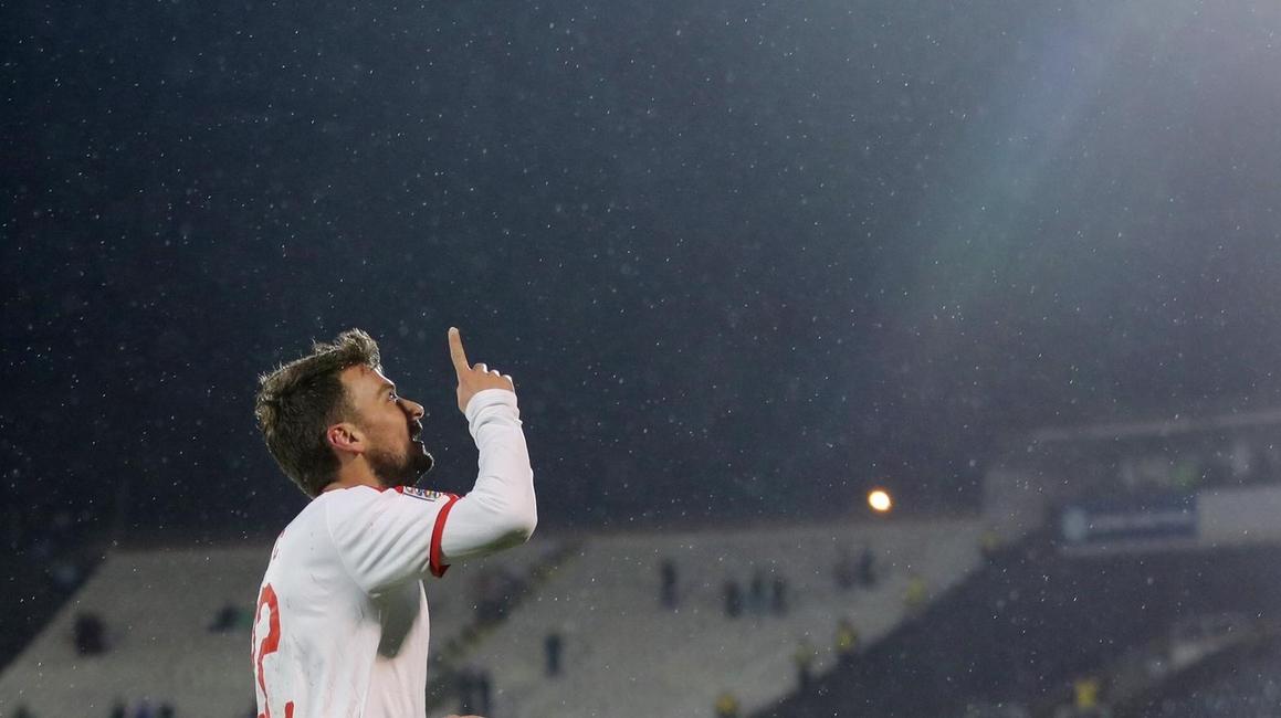 Adem Ljajic, yedekte başlamasına rağmen golünü attı!