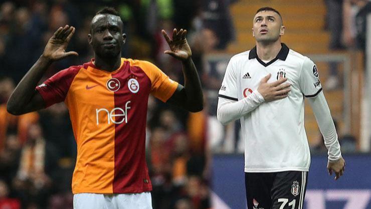 Galatasaray - Beşiktaş derbisinde golcülerin kapışması!