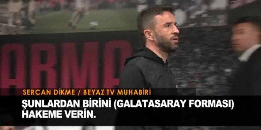 Gökhan Gönül'den maç sonu hakeme tepki!