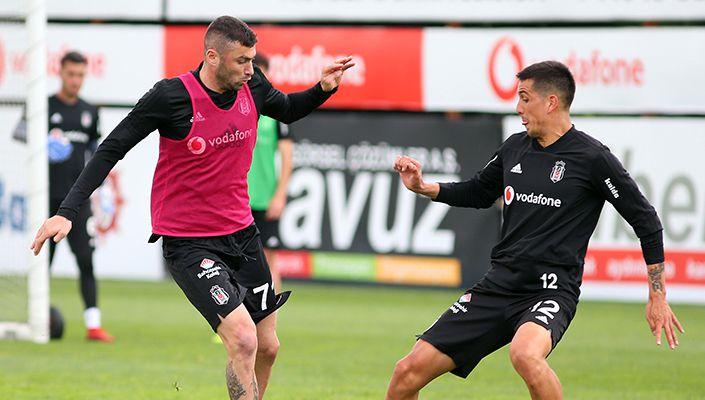 Beşiktaş'ın Alanyaspor maçı antrenman notları