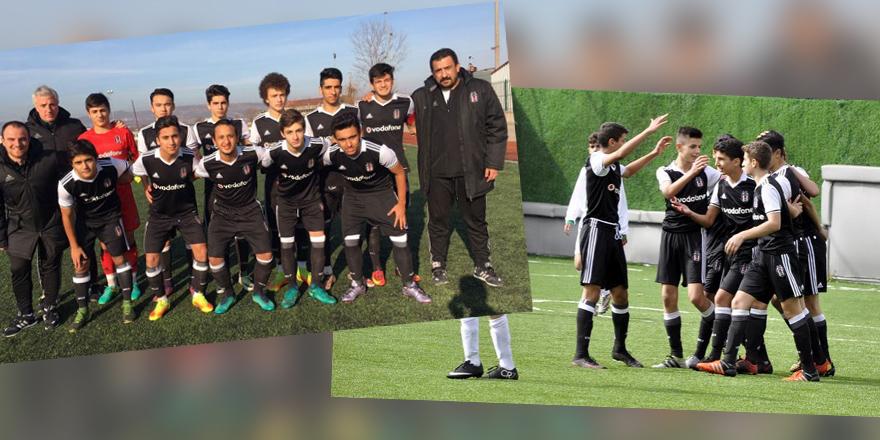 Beşiktaş altyapıları 2-0 ve 3-0 ile yendi