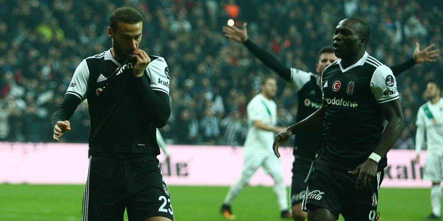 Beşiktaş'ta tek hedef: Liderlik