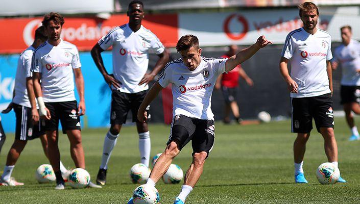 Beşiktaş'ta Sivasspor maçı hazırlıkları sürüyor