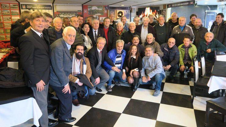 Beşiktaşlı Sporcular Derneği'nden takıma destek ziyareti