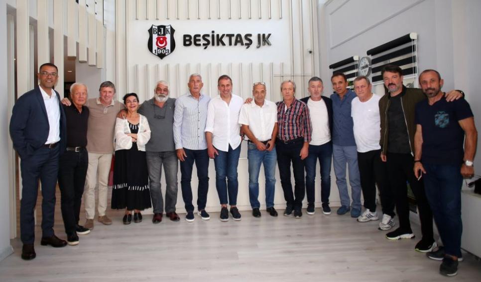 Beşiktaşlı Eski Sporcular Derneği'nden Avcı'ya ziyaret