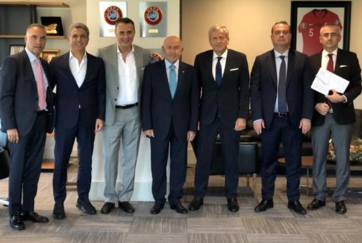 Fikret Orman'dan TFF Başkanı Nihat Özdemir'e ziyaret