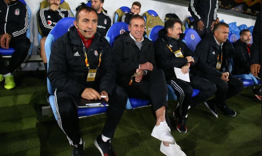 Abdullah Avcı'dan maç sonu açıklamalar! Beşiktaş taraftarlarından özür...