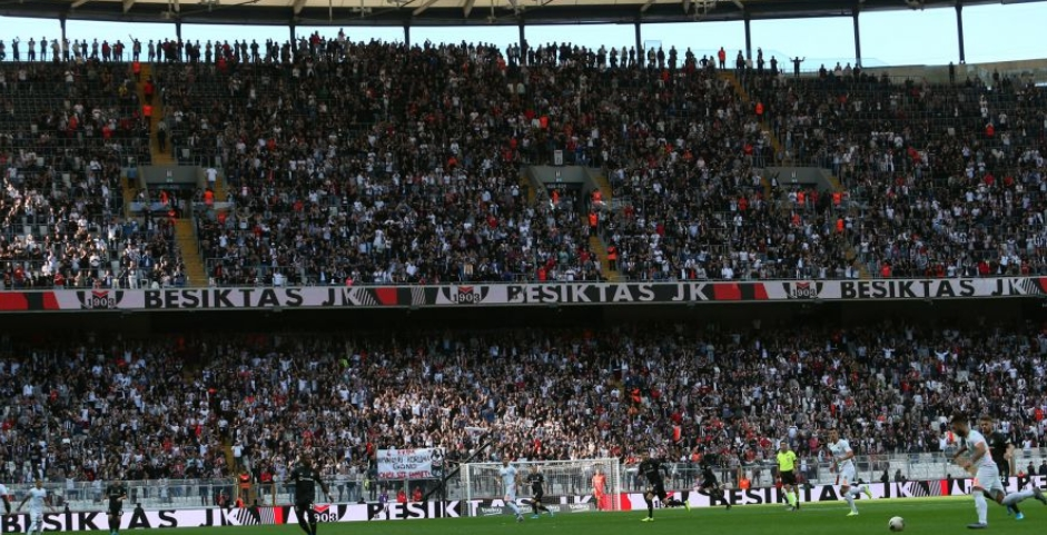 Beşiktaş - Trabzonspor maçında 40 bin kartal!