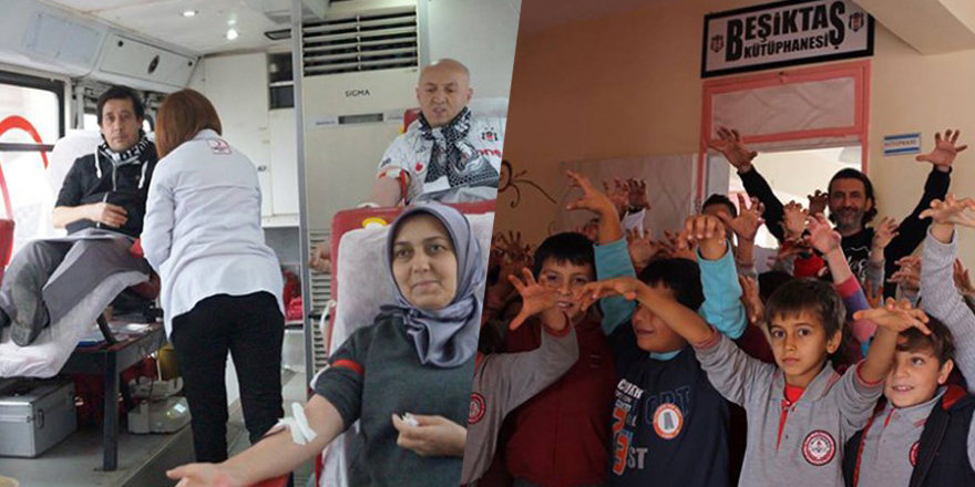 Ordulu ve Antalyalı Beşiktaşlılardan anlamlı etkinlikler