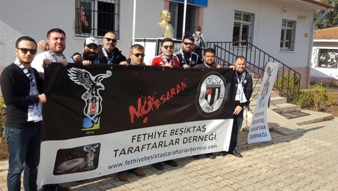 Fethiyelı Beşiktaşlılardan ilkokul ziyareti