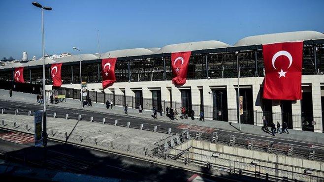 Vodafone Arena çevresi için 23:30'a kadar dikkat