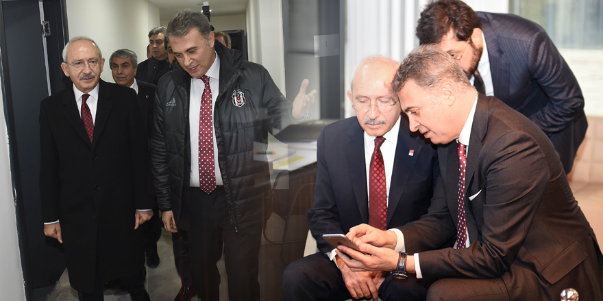 CHP liderinden Fikret Orman'a taziye ziyareti