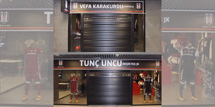 Şehitlerin isimleri artık Vodafone Arena'da!