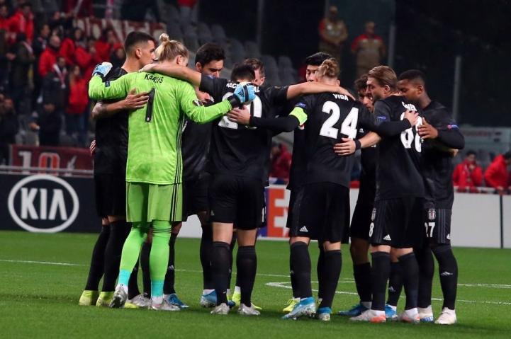Avrupa'da son 5 sezonun en başarılısı Beşiktaş