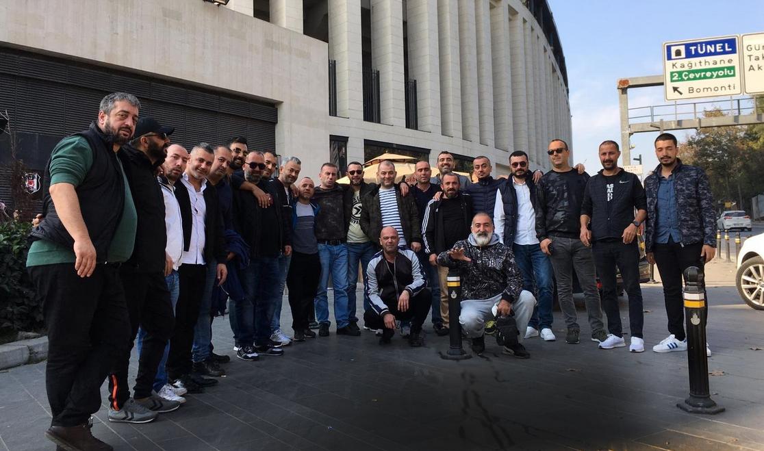 """Çarşı'dan Ahmet Nur Çebi'ye ziyaret: """"Şanlı armamızın temsil edildiği her ortamda..."""""""