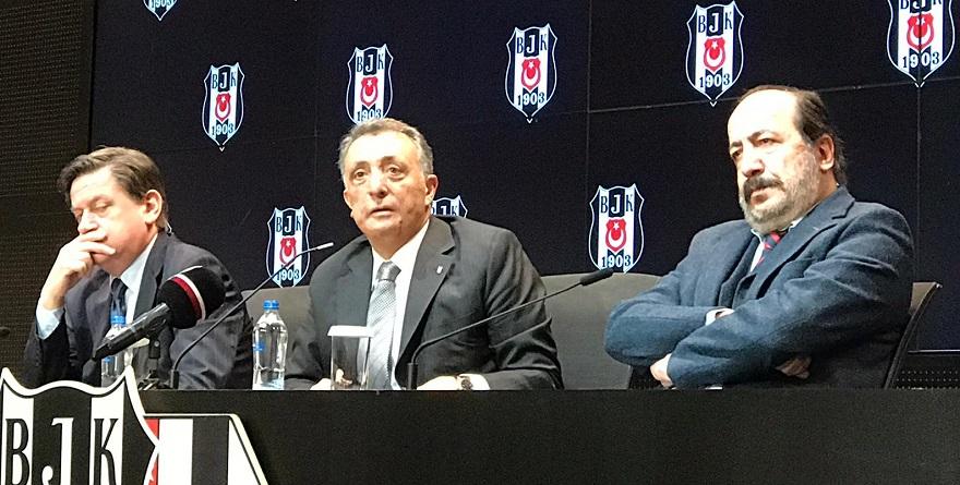Beşiktaş'tan olay açıklama: Biat etmiştir