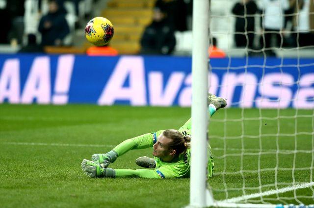 Karius, Beşiktaş'ta her maç 1,5 gol yiyor