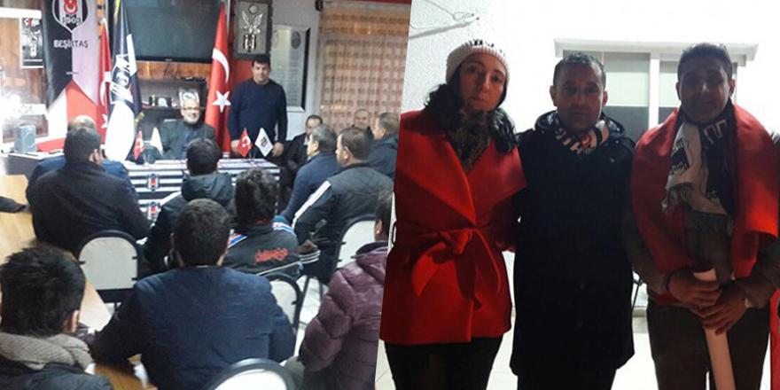 Beşiktaş dernekleri şehitleri anmaya devam ediyor