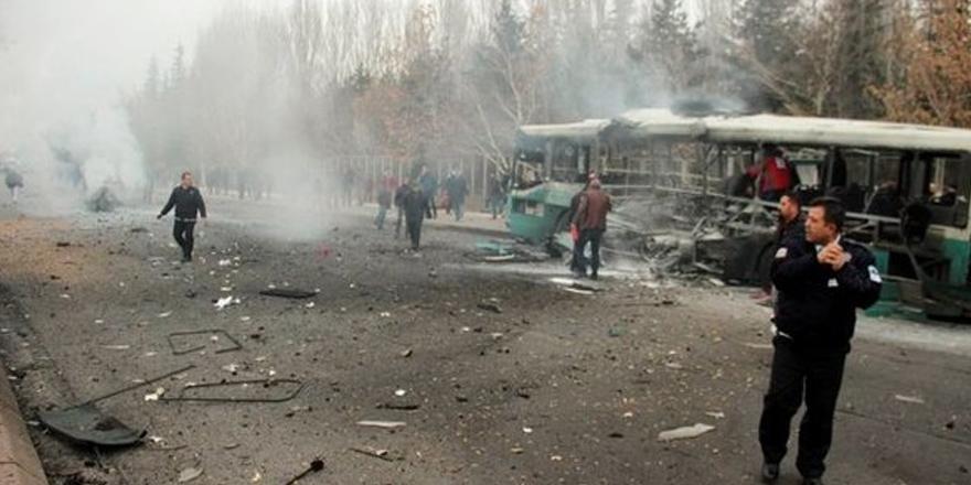 Kayseri'de bombalı saldırı! TSK açıkladı: 13 şehit, 48 yaralı