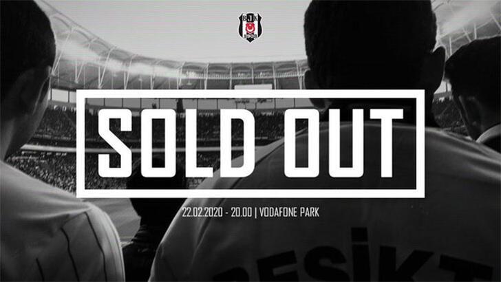 Beşiktaş-Trabzonspor maçı kapalı gişe
