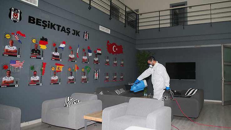 Beşiktaş'ta Corona Virüs için maksimum koruma