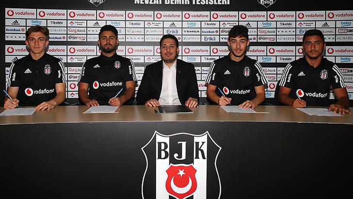 Beşiktaş 5 genç isimle sözleşme imzalayacak!