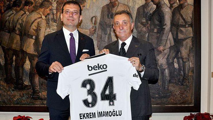 Ekrem İmamoğlu'dan Beşiktaş'ın yardım kampanyasına destek