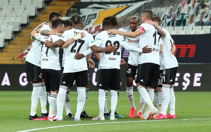 Beşiktaş'ın Yeni Malatyaspor kadrosu belli oldu