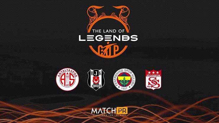 Beşiktaş, Fenerbahçe, Sivasspor ve Antalyaspor The Land of Legends Cup'ta